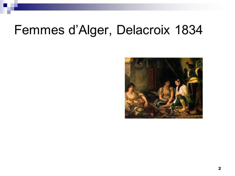 2 Femmes dAlger, Delacroix 1834