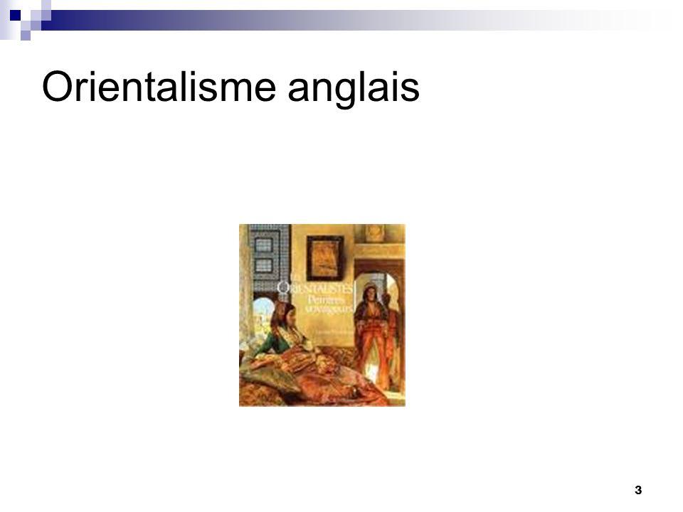 3 Orientalisme anglais
