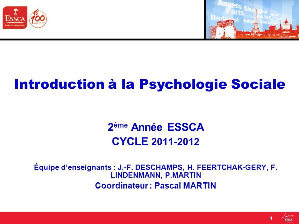 1.1.Quels sont les conceptions de lhomme et les modèles qui ont marqué la psychologie sociale .