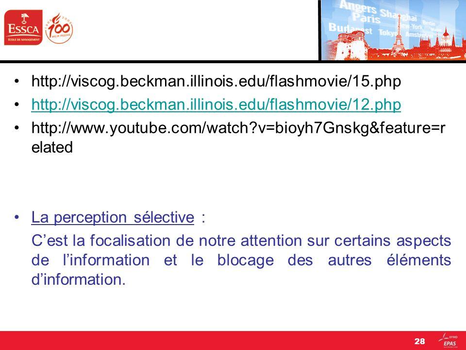 http://viscog.beckman.illinois.edu/flashmovie/15.php http://viscog.beckman.illinois.edu/flashmovie/12.php http://www.youtube.com/watch?v=bioyh7Gnskg&f