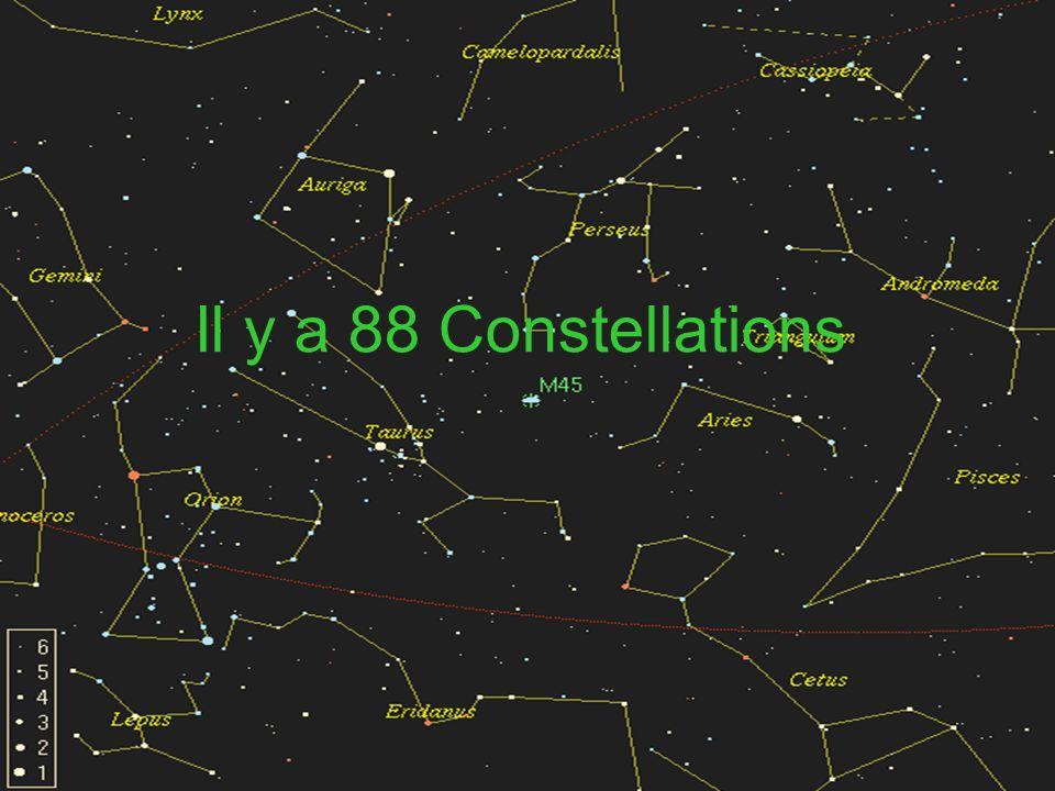 Il y a 88 Constellations