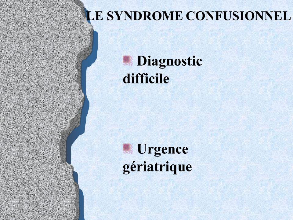 Critères diagnostics Évolution progressive Déclin continu Retentissement social anosognomie= trouble de la perception de son état