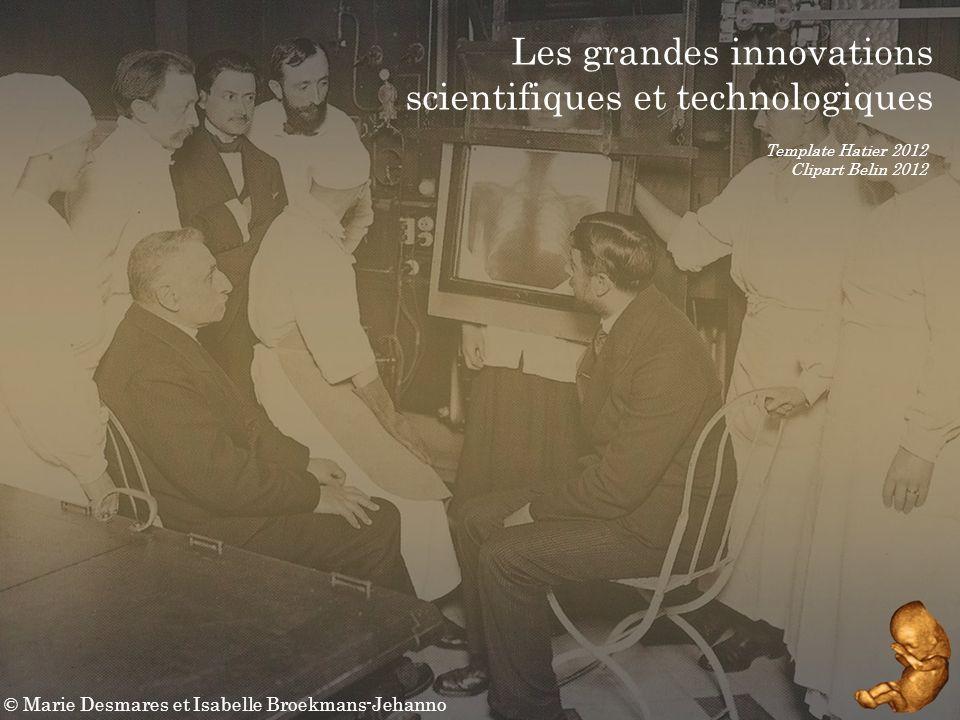 © Marie Desmares / I.BJ Quel impact ont ces innovations sur les sociétés .