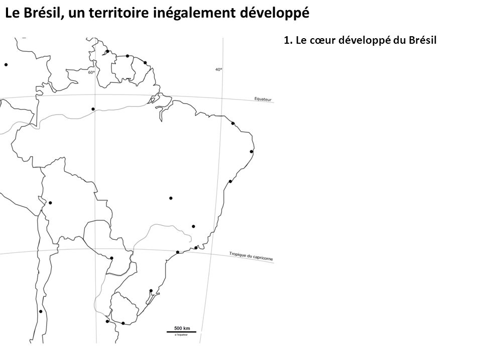 1. Le cœur développé du Brésil