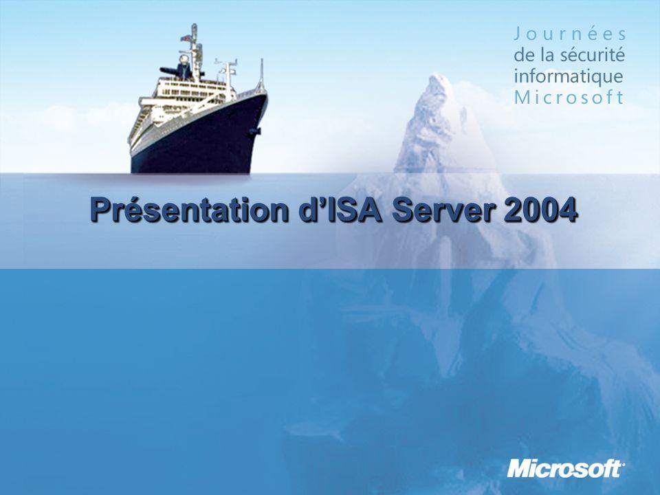 Présentation dISA Server 2004