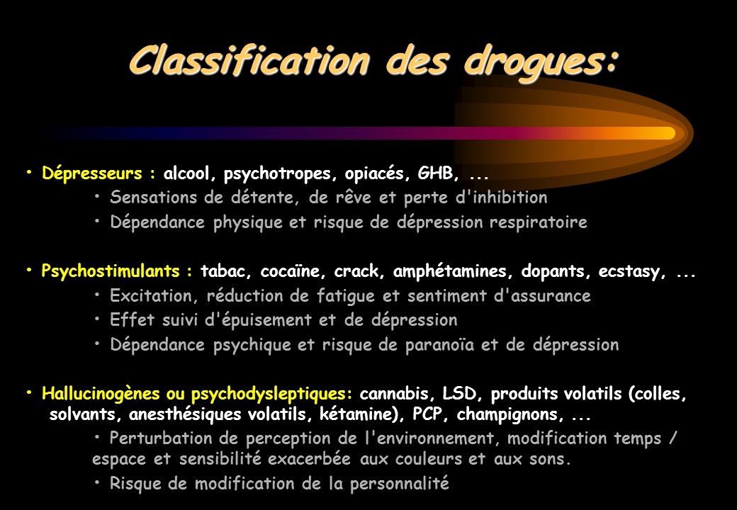Une loterie : le comprimé 651 échantillons : 43 molécules identifiées MDMA : 41 % de 0,2 à 97 % par échantillon Amphétamines : 6 % Caféine, Cocaïne, LSD, THC : 5 % Chloroquine : 4 %, Kétamine, -OH, héroïne… Galliot, Psychotropes, 2000Galliot, Presse Med, 1999 Sherlock, J Accid Emerg Med, 1999 Wolff, Lancet, 1995 « Users of esctasy… a form of lottery »