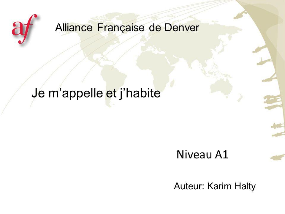 Où habitez-vous.La ville est située en France ou aux Etats unis.