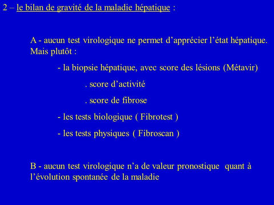 3.chez un sujet séro-positif et ARN/HCV non détectable :.