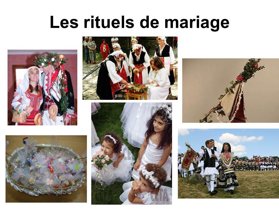 Les rituels de mariage