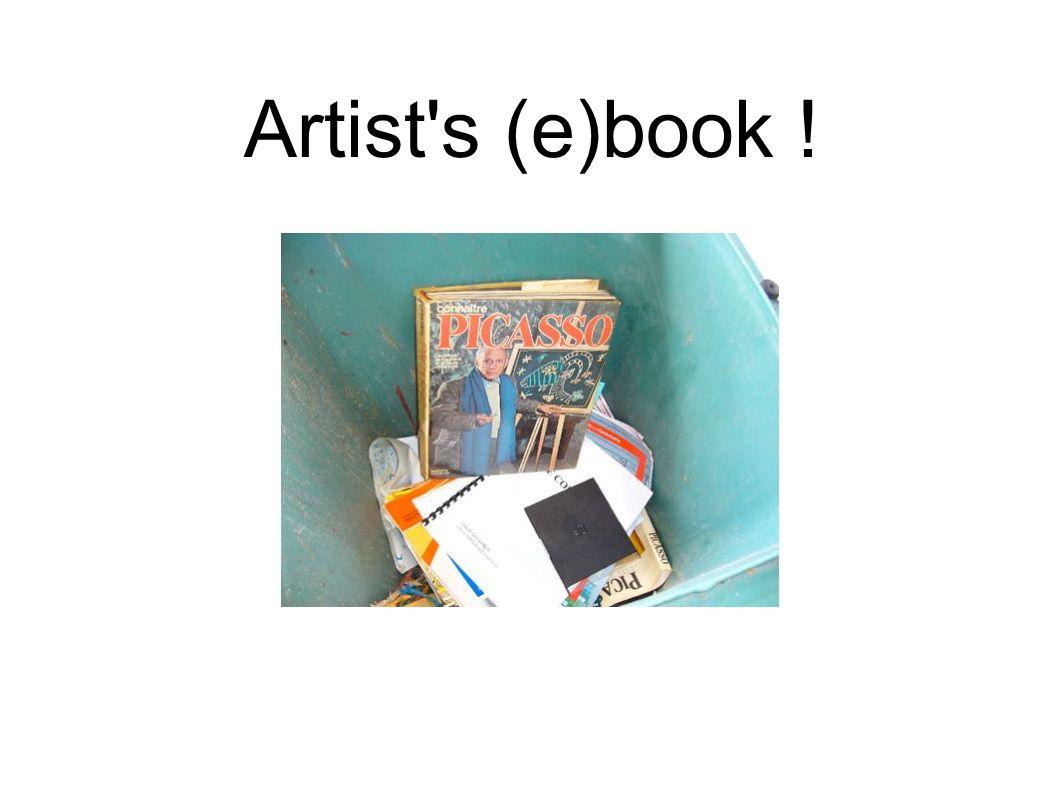 Artist's (e)book !