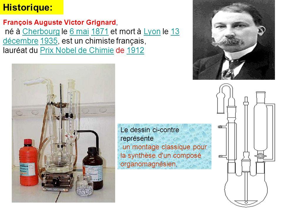 François Auguste Victor Grignard, né à Cherbourg le 6 mai 1871 et mort à Lyon le 13 décembre 1935, est un chimiste français,Cherbourg6 mai1871Lyon13 d