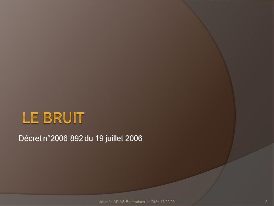 Engins de chantier 13Journée ARIAS-Entreprises et Cités 17/02/09