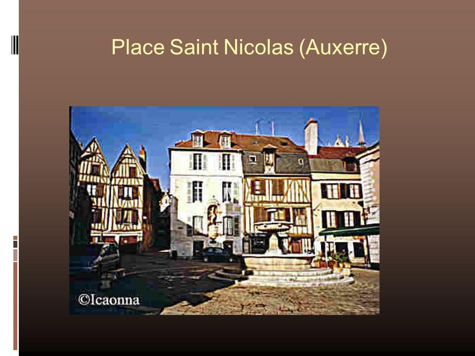 Place Saint Nicolas (Auxerre)