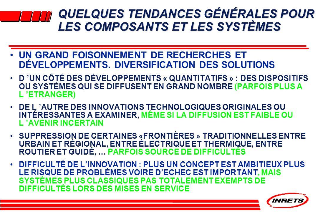 UN CAS PARTICULIER : LE TRANSRAPID À SUSTENTATION MAGNÉTIQUE DEVENU SYSTÈME RÉGIONAL.
