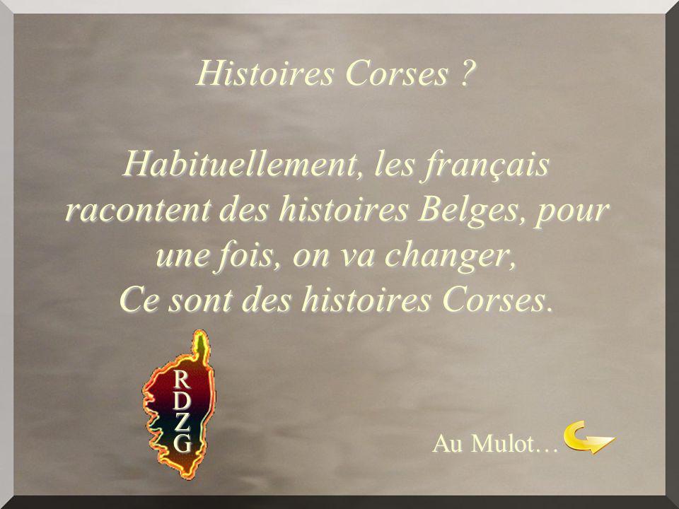 Histoires Corses .