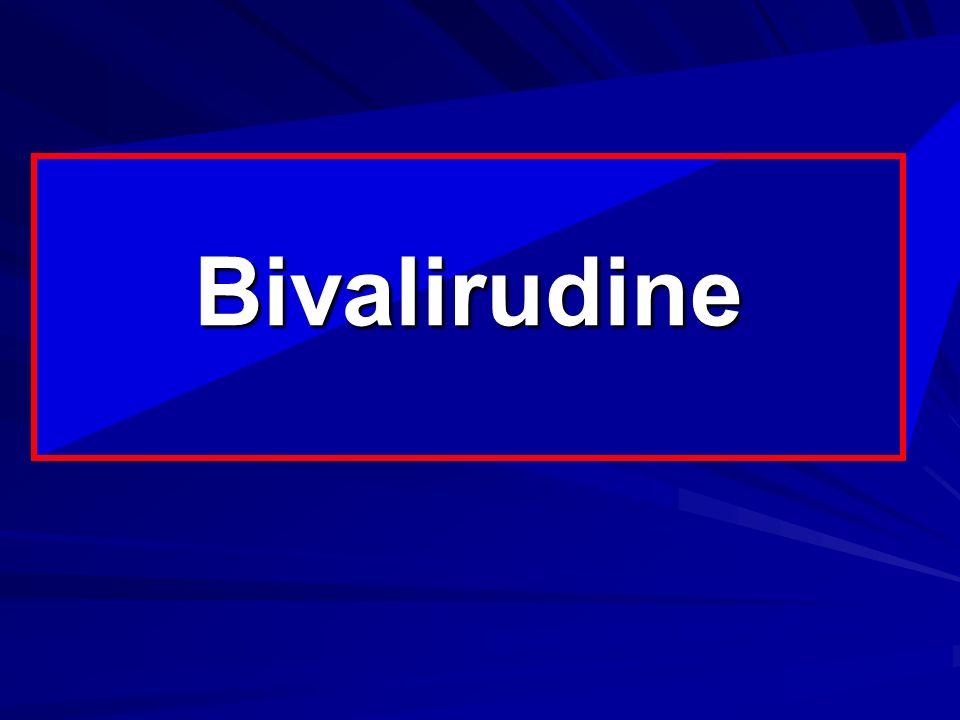 Rappels Anticoagulants XIIa XIa IXa Voie intrinsèque Xa Voie extrinsèque (facteur tissulaire) VIIa Thrombine (IIa) Héparine / HBPM AT-III dépendant) Hirudine/Hirulog bivalirudine Antithrombine exclusifs polysaccharides fondaparinux Agents anti Xa exclusifs Thrombine-Fibrine