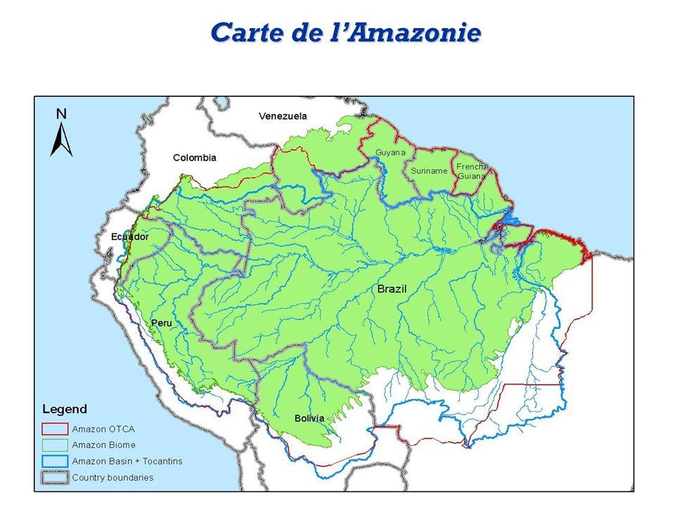 Carte de lAmazonie