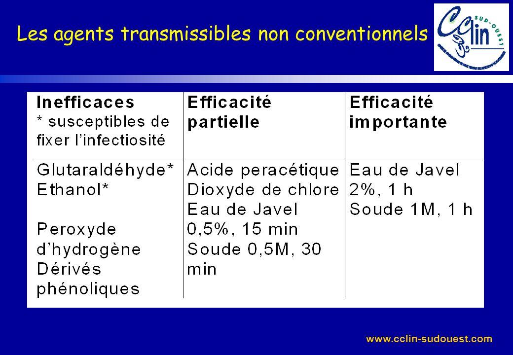 www.cclin-sudouest.com Les agents transmissibles non conventionnels