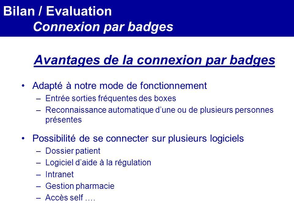 MEDEC - Congrès 2006 : Forum de lInformatique et des N.T.I.C Santé, le vendredi 17 Mars Possibilité de se connecter sur plusieurs logiciels –Dossier p