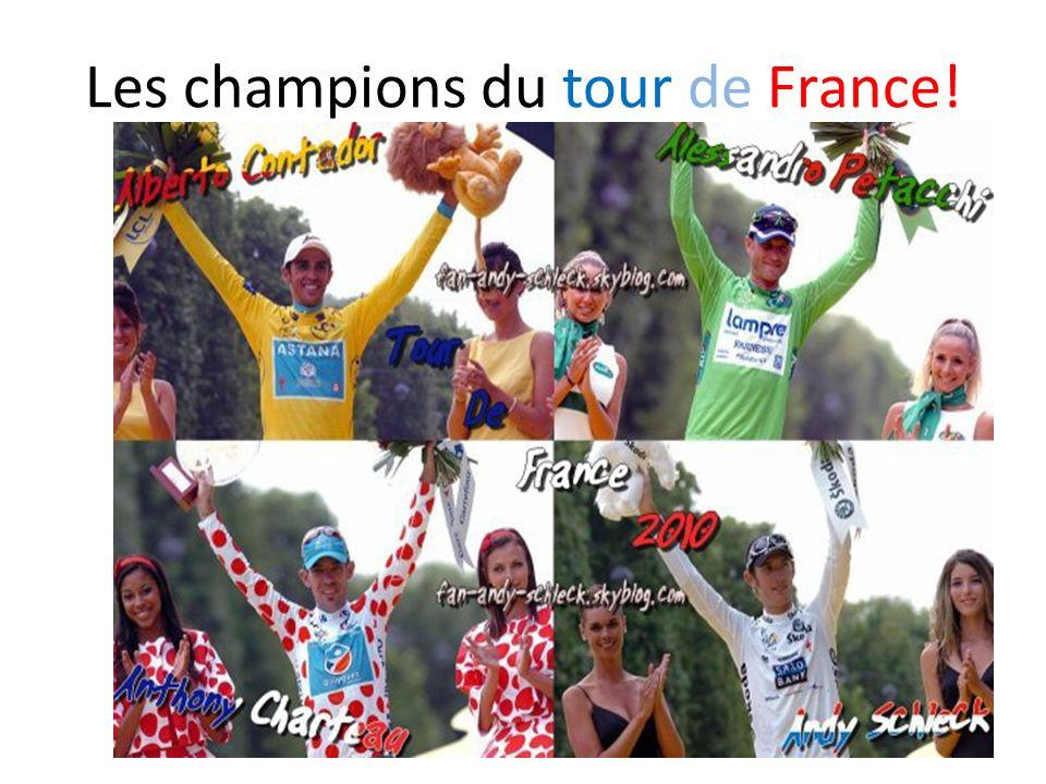 Un sport français: Le tour de France 2010 http://www.youtube.com/watch?v=N4nJwtkS6g0 parcours http://www.youtube.com/watch?v=A0jSvVbQB5I&feature=channel vue du ciel http://www.youtube.com/watch?v=N4nJwtkS6g0 http://www.youtube.com/watch?v=A0jSvVbQB5I&feature=channel
