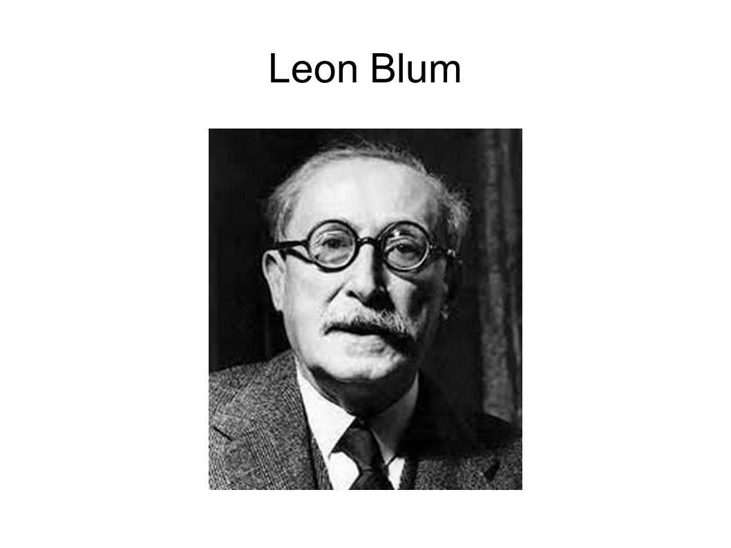 « Léon Blum: Si la chambre, en accord manifeste avec le gouvernement, entend laisser se dérouler dans le silence, une suite dévénements redoutables… […] Nous ne pouvons, nous, ni attendre, ni nous taire.