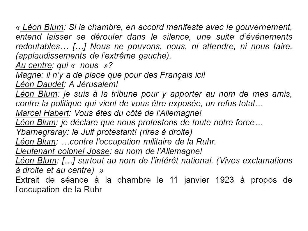Qui est Léon Blum .