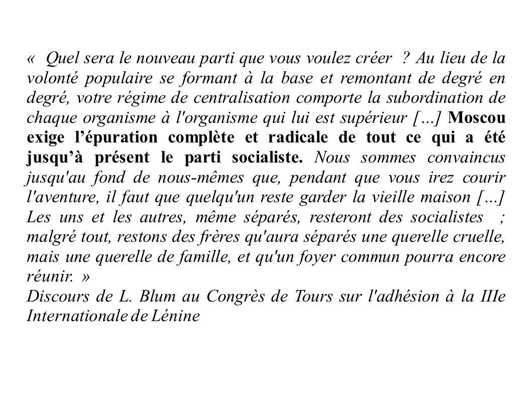 A quel texte fait référence Léon blum .Adhère t-il à ce projet .