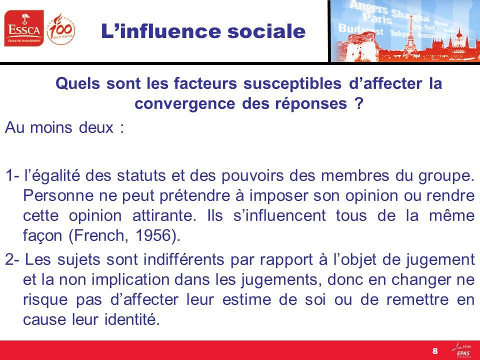 Linfluence sociale Quels sont les facteurs qui déterminent lengagement .