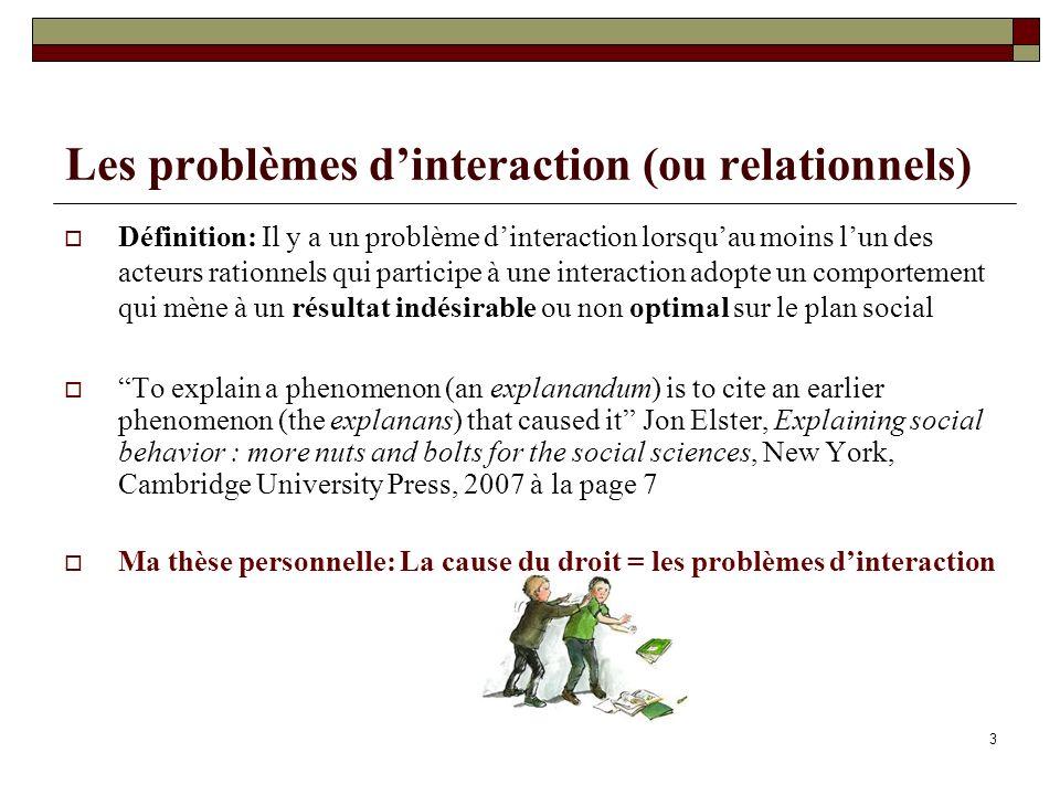 Solutions au dilemme du prisonnier - La concertation - Le contrat: Ex.