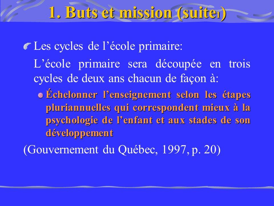 Les cycles de lécole primaire: Lécole primaire sera découpée en trois cycles de deux ans chacun de façon à: Échelonner lenseignement selon les étapes