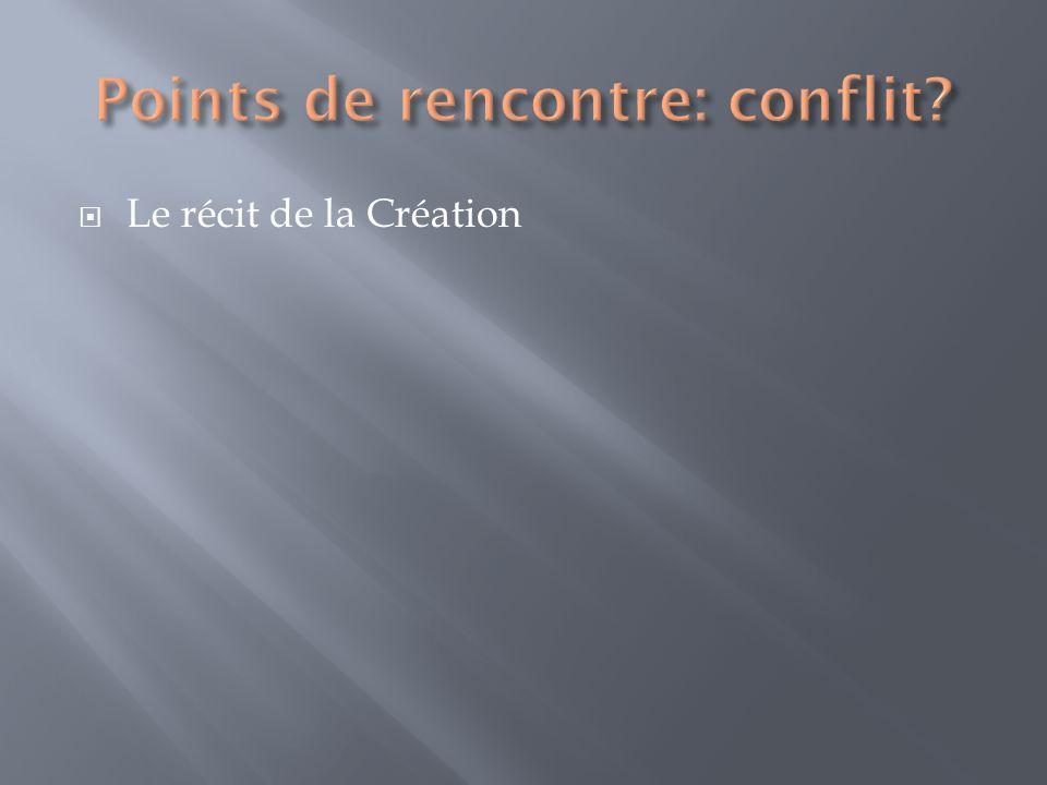 Le récit de la Création