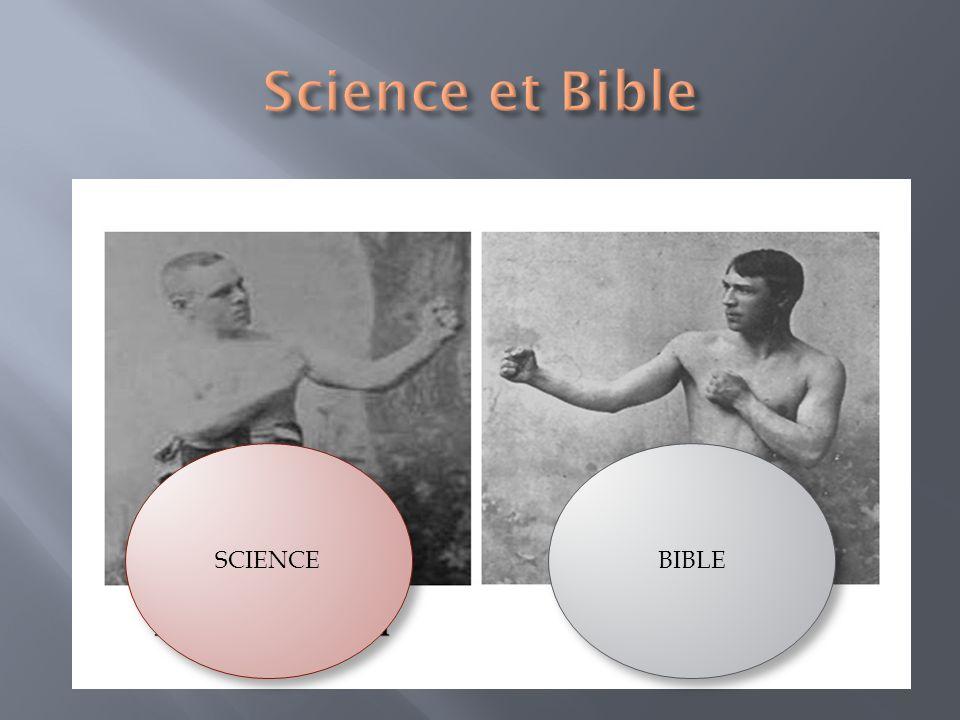 Les déclarations de la Bible sharmonisent- elles avec la Science.
