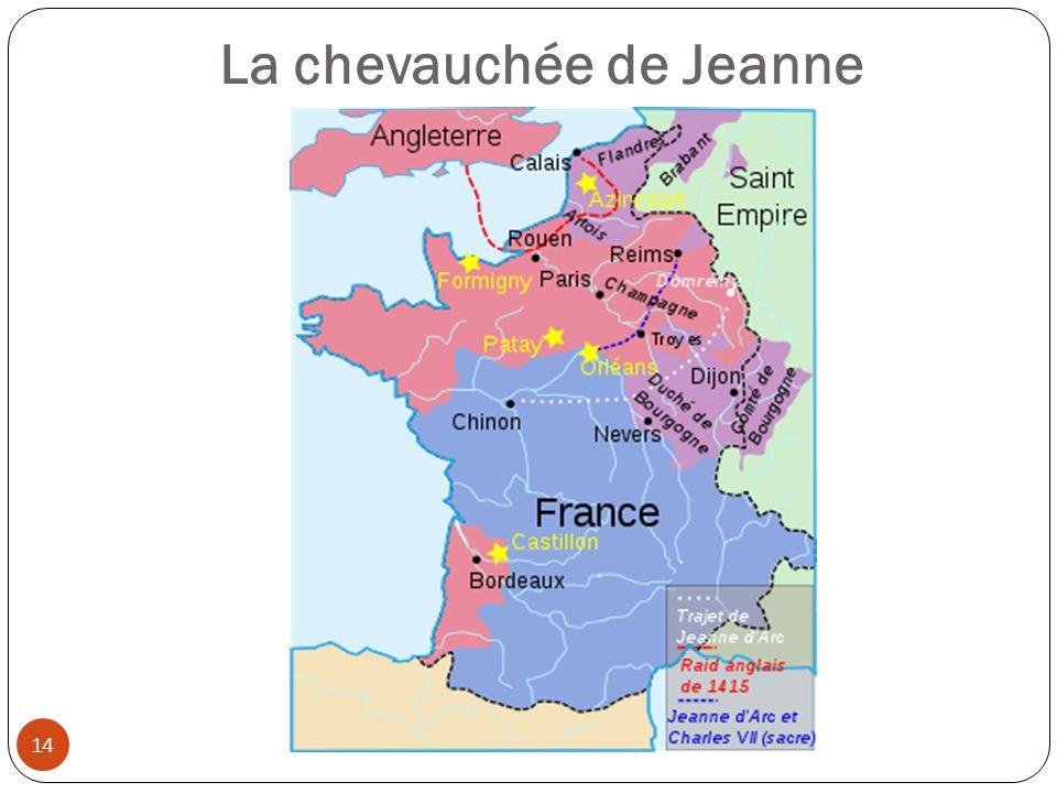 La chevauchée de Jeanne 14