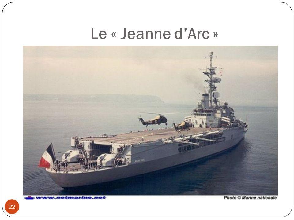 Le « Jeanne dArc » 22