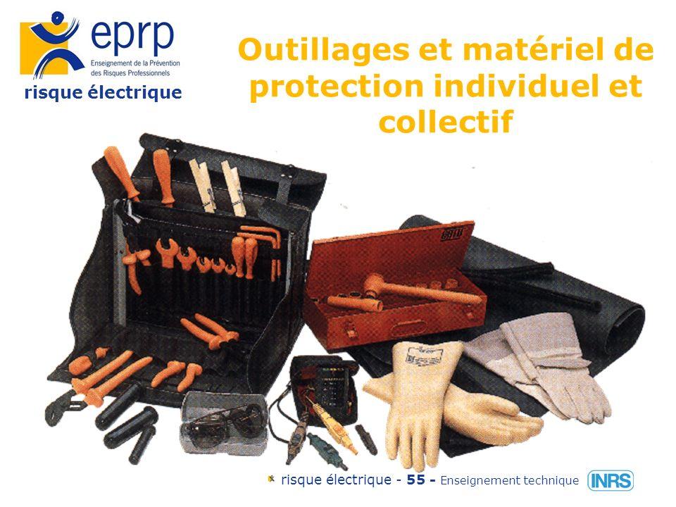 risque électrique risque électrique - 54 - Enseignement technique Les degrés de protection IP3x ou IP xx C IP3x ou IP xx C Fil dacier d=2,5mm En HT bille d= 12,5mm Doigt dépreuve articulé d= 12mm longueur 80 mm ~ IP2x ou IP xx B IP2x ou IP xx B En BT