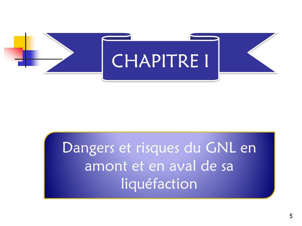 CHAPITRE I Dangers et risques du GNL en amont et en aval de sa liquéfaction 5
