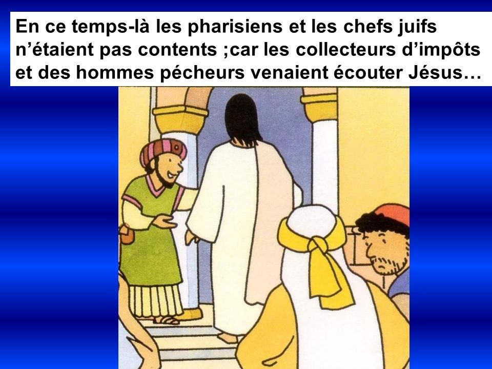 Jésus les accueillait et il mangeait même avec eux.