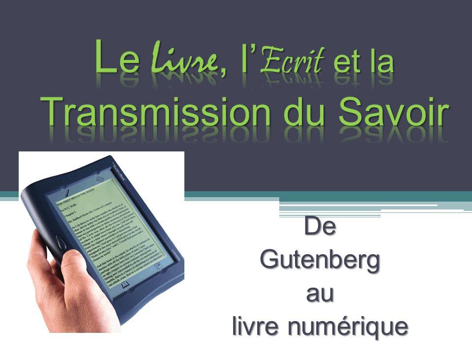 DeGutenbergau livre numérique
