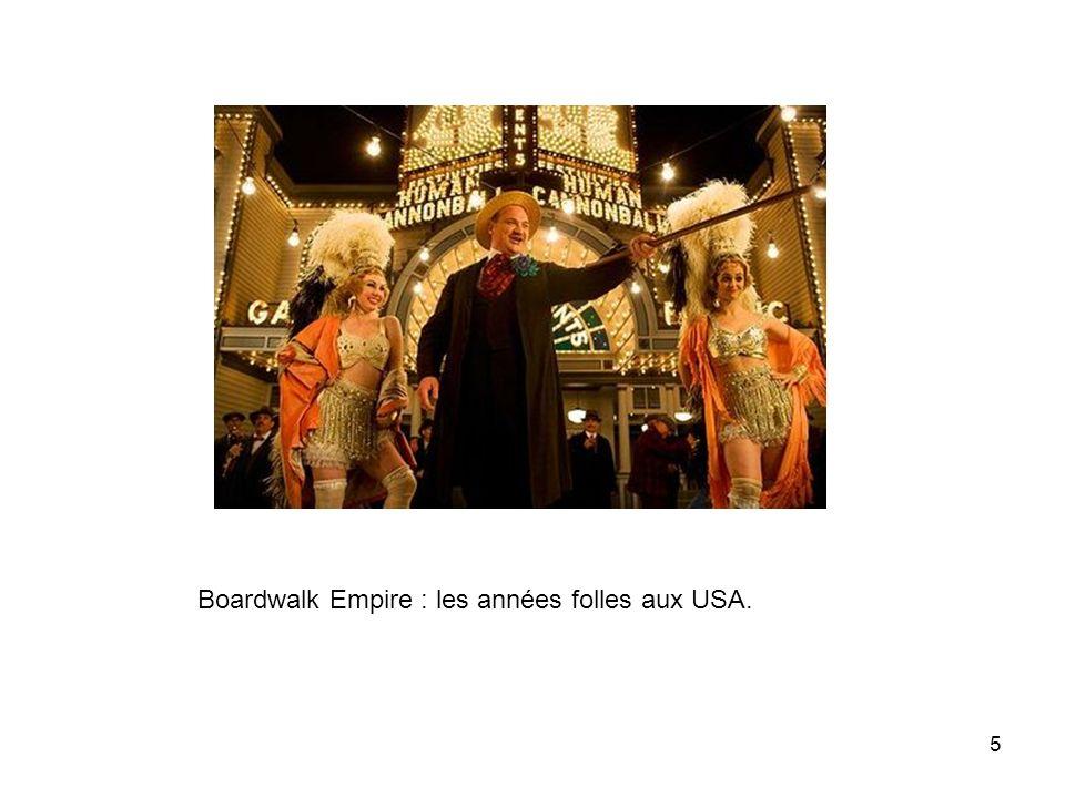 5 Boardwalk Empire : les années folles aux USA.
