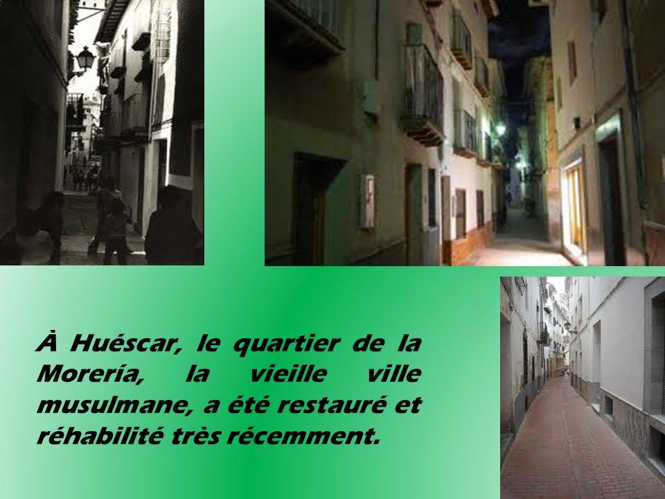 À Huéscar, le quartier de la Morería, la vieille ville musulmane, a été restauré et réhabilité très récemment.