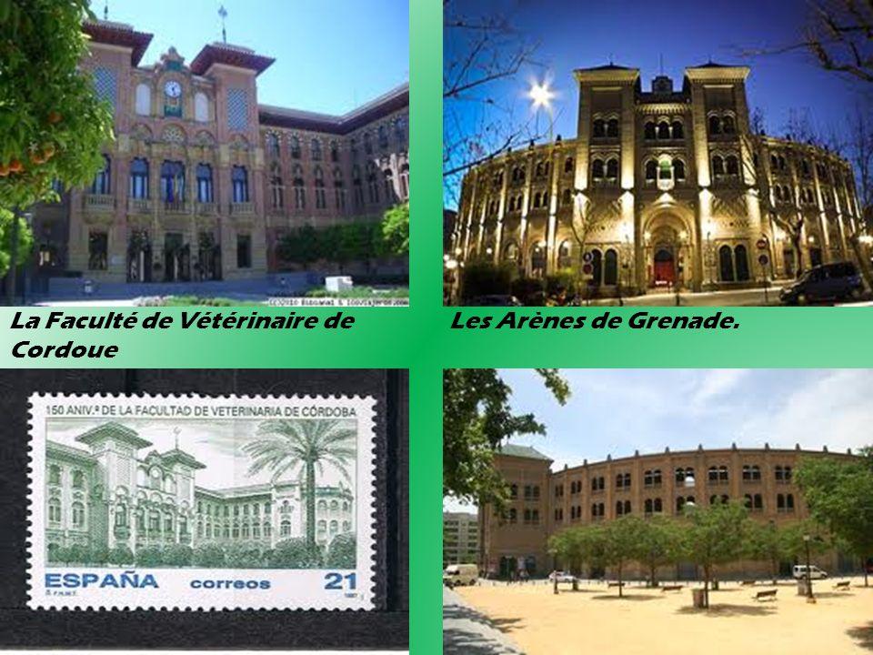 La Faculté de Vétérinaire de Les Arènes de Grenade. Cordoue