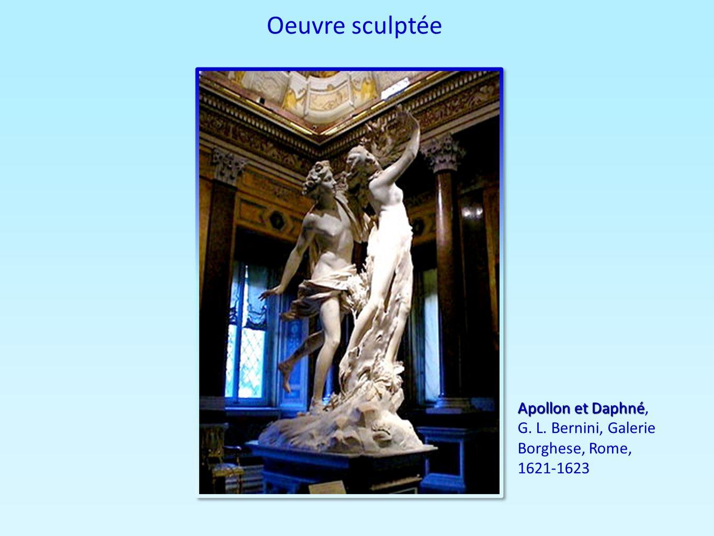 Oeuvre sculptée Apollon et Daphné Apollon et Daphné, G. L. Bernini, Galerie Borghese, Rome, 1621-1623