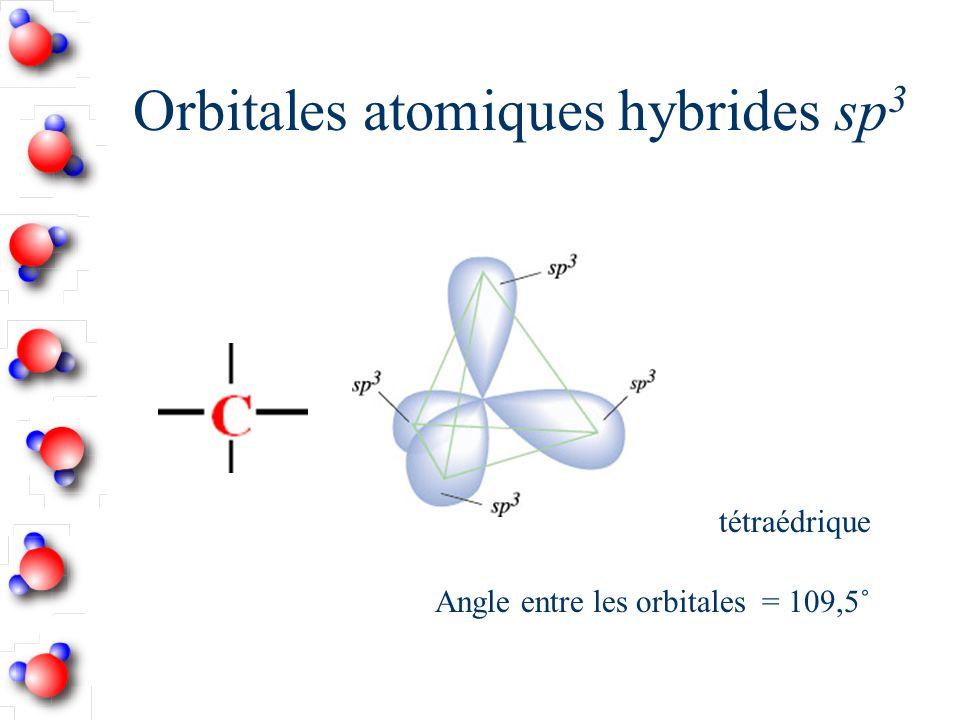Orbitales atomiques hybrides sp 3