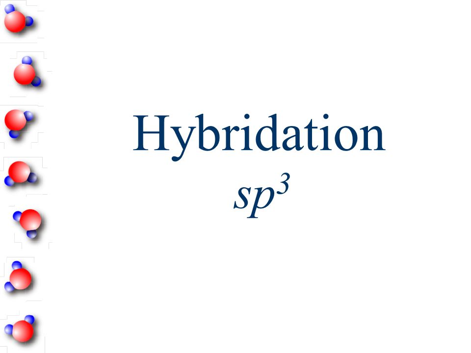 Hybridation sp 3