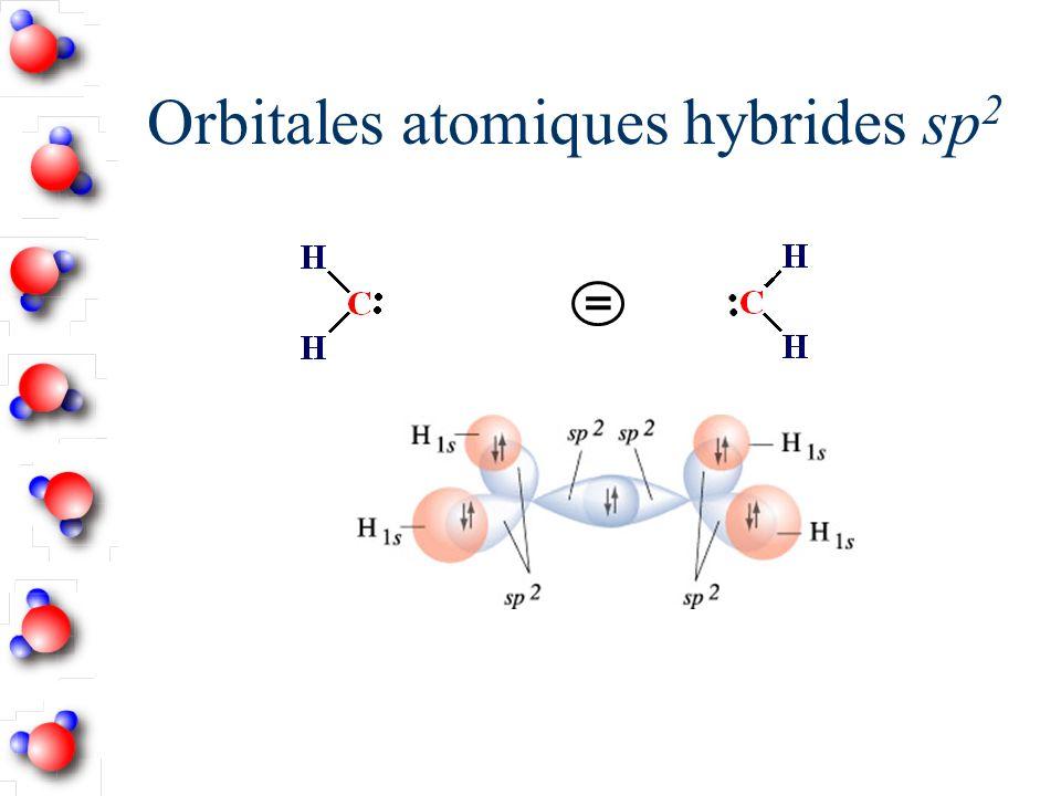 Orbitales atomiques hybrides sp 2