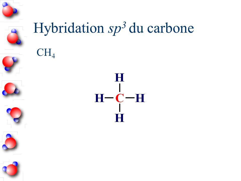 Hybridation sp de BeCl 2
