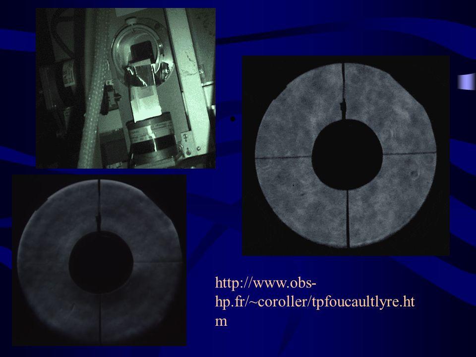http://www.obs- hp.fr/~coroller/tpfoucaultlyre.ht m