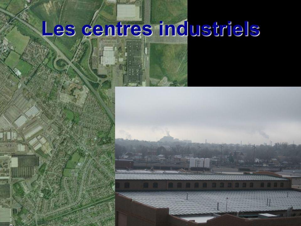 Les centres industriels