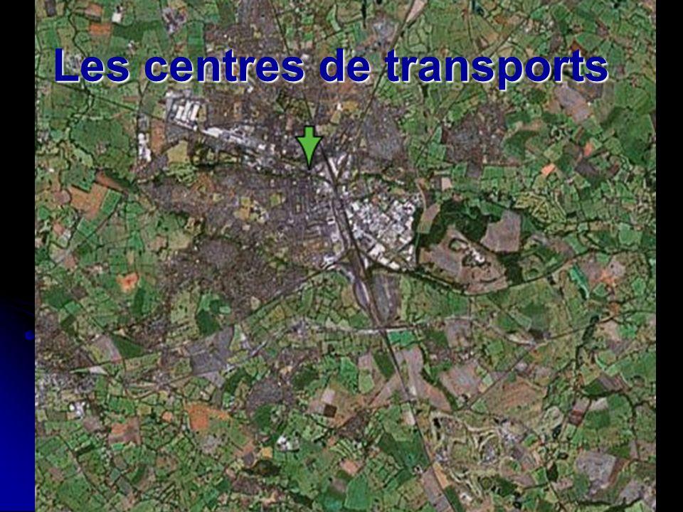 Les centres de transports