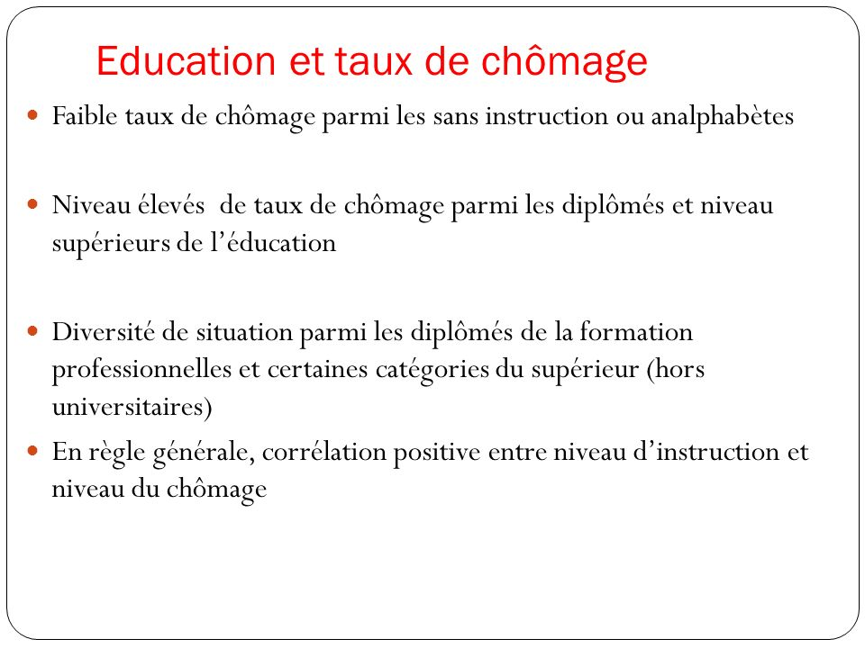 Réforme de léducation et meilleure préparation à la vie professionnelle Bilan peu satisfaisant de la charte de léducation et de la formation et un programme durgence à la recherche dun nouveau souffre de la réforme